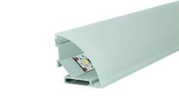 LED Anbauprofile L&S Mini Corner mit Lichtblende