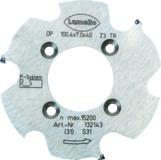 Lamello 132143 P-System-Nutfräser CNC, DP (Diamant) für CNC,, 100.4x7x40mm, Z3, NLA 4/5,5/52mm