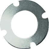 LAMELLO Art. 322510 Distanzscheibe 40 x 22 x 1 mm, mit 4 Nebenlöchern